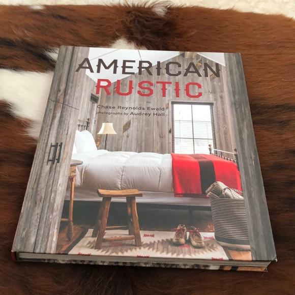 American Rustic coffee table book